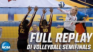 Stanford vs. Minnesota: 2019 NCAA women's volleyball national semifinals   FULL REPLAY