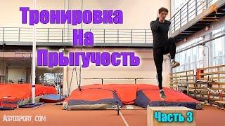 Прыжок. Тренировка на увеличение прыжка #3.(Прыжок. Тренировка на увеличение прыжка. С барьерами. Активный отдых, для активных людей - http://zenit-tour.ru/puteshestvi..., 2013-12-13T19:27:09.000Z)