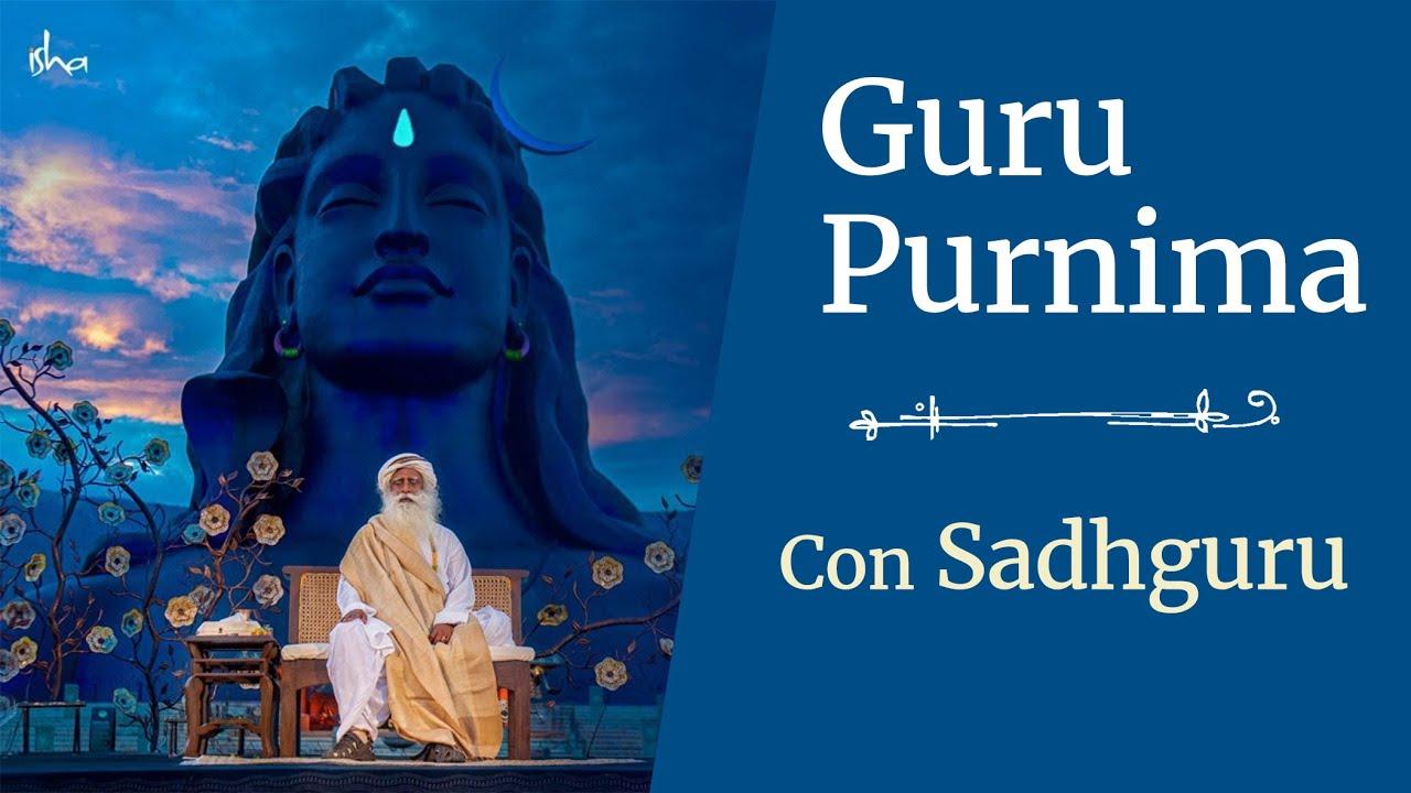 Gurú Purnima con Sadhguru