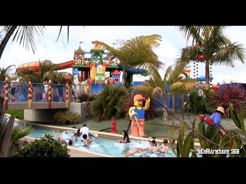 [HD] Tour of Legoland Water Park - Overview of Legoland Water Park California