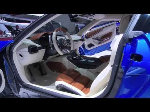 Lamborghini Asterion Lpi 910 4 Interior Youtube
