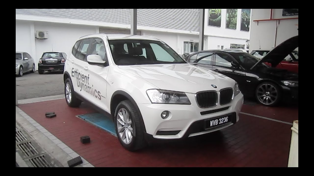 2011 BMW X3 xDrive20d Start-Up and Full Vehicle Tour - YouTube