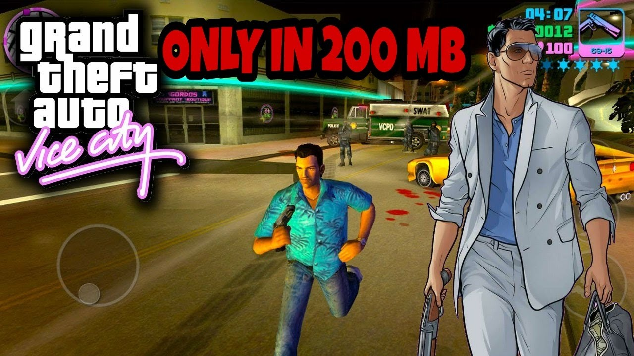gta vice city game for android mobile