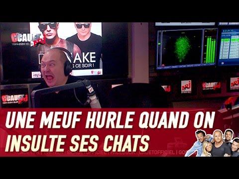 Une Meuf Hurle Quand On Insulte Ses Chats - C'Cauet Sur NRJ