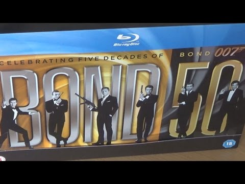 BOND 50 - Bluray boxset review