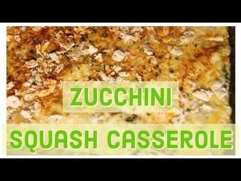 Better than your MAMA!! CHEESY Yellow SQUASH and Zucchini CASSEROLE!