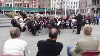 Luftwaffe March/Aces High - East Grinstead Concert Band - Bruges - 12.10.14