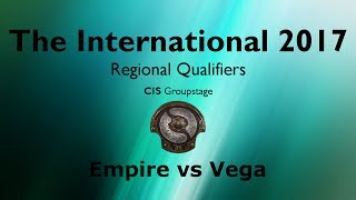 TI7 Qualifiers - CIS - Empire vs Vega