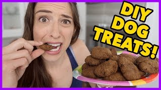 DIY Healthy Dog Treats!!!
