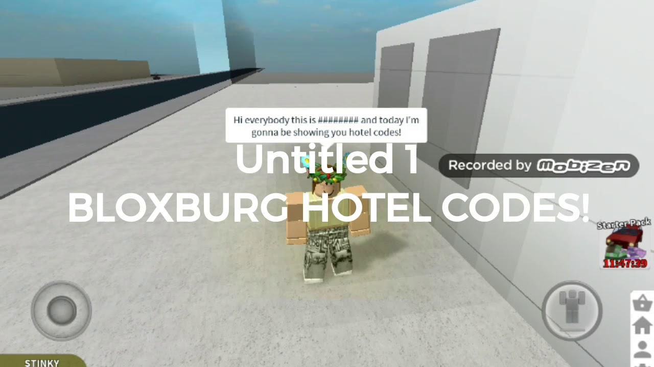 Roblox Bloxburg Hotel Codes Youtube