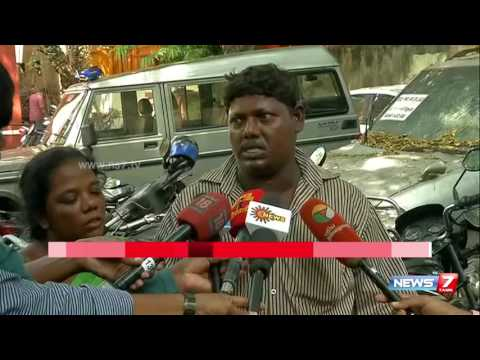 Pudupet hardware shop worker found dead in Cooum river | News7 Tamil