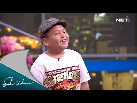 Sarah Sechan - Fatih Unru - Anak 7 Tahun Bisa Stand Up Comedy Mp3