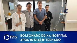 Presidente Jair Bolsonaro segue para Brasília