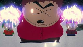 Cartman Epic Lightning Bolt Shooting Cuss Scene Bigger Longer & Uncut