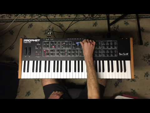 Dave Smith Instruments Prophet Rev2 Demo of Voices and Sounds