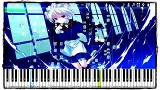 東方ピアノ楽譜 ナイトオブナイツ ピアノ中級~上級者向け