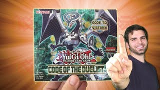 *NEW* YuGiOh 2017 Code of the Duelist INSANE Booster Box Opening & Review! OH BABY!!