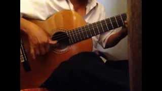 Về đâu mái tóc người thương -Guitar Solo Tremolo