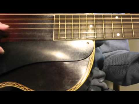 Harmony Broadway 40s 50s huge vintage tone $499 nice guitar