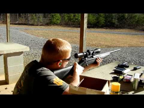 Firing my New Remington 770 30.06
