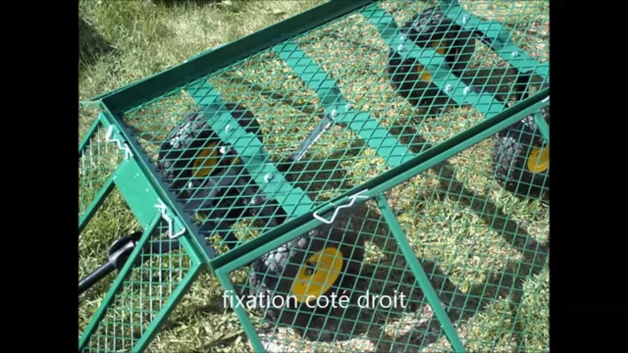 Montage Chariot Remorque de jardin avec cts rabattables  YouTube