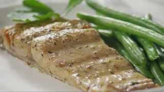 Fish Recipes - How to Make Grilled Salmon