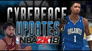 New Hair and Updated Faces ( PC ) NBA 2K18 - by EnterTHEV01D