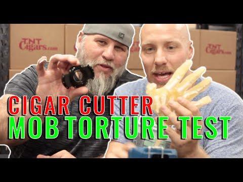 Top 5 Cigar Cutter MOB TORTURE TEST!!!