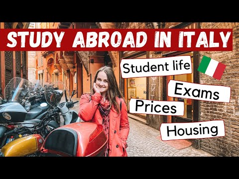 Study Abroad In ITALY // International Student At The University Of Bologna