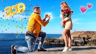 THE BEST SURPRISE TO START 2019!!! (SHE SAID YES!)