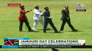 President Uhuru Kenyatta presides over Jamhuri day celebrations