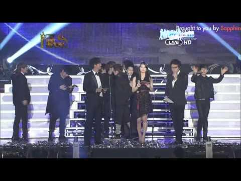 [Vietsub] Super Junior win Disk Daesang  Seoul music 2012