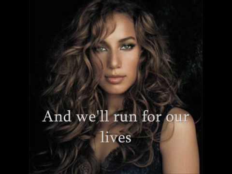 LEONA LEWIS - Run With Lyrics