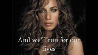 LEONA LEWIS - Run With Lyrics