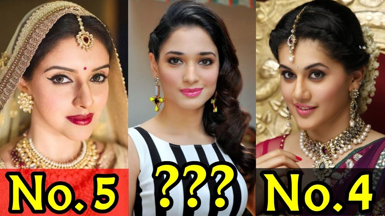 Top 10 Most Beautiful South Indian Actress Of 2018 Youtube