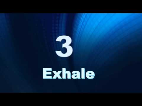 5x7 Breath Metronome for Diaphragmatic Breathing: 5 sec. inhale, 7 sec. exhale