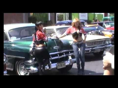 Mayela Garcia y Elizabeth Lopez modelos en la expo de autos ...