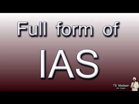 full-form-of-ias