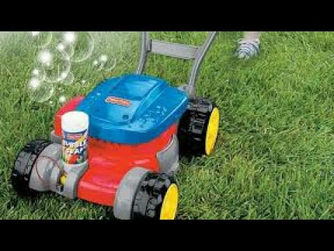 Fisher Price Bubble Mower/ Toddlers Unboxing And Playing