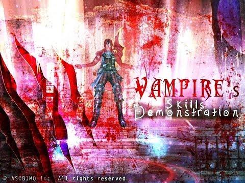 Vampire's Skills Demonstration ~ Hidden Skill Included