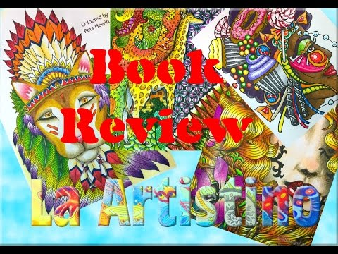 Colouring Book Review Walk through and Tips: The Directory Of Who's Who 2016
