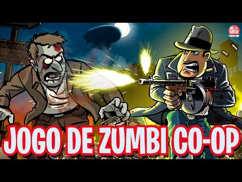 JOGO DE ZUMBI 2D DESENHADO A MÃO | GUNS, GORE & CANNOLI ( CO-OP) PT-BR