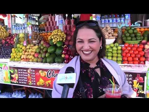 جامع الفنا/ مراكش.. عصير بهجاوة للأجانب والمشاهير
