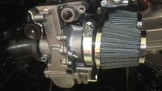 Yamaha XS1100 Cafe Racer Project - Episode 37 - Fitting Mikuni RS36 Flat Slides