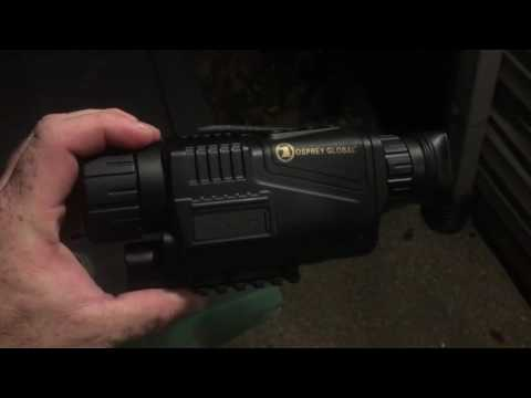Osprey Global Night Vision 5 X 40 Digital Monocular demonstration