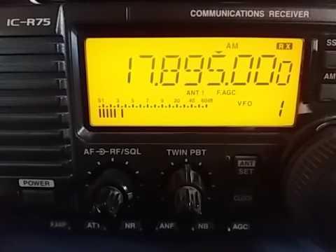 Radio Saudi, Riyadh SAUDI ARABIA - 17895 kHz