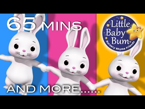 Sleeping Bunnies | Plus Lots More Nursery Rhymes | 65 Minute