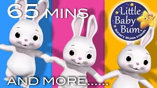 Sleeping Bunnies | Plus Lots More Nursery Rhymes | 65 Minutes Compilation from LittleBabyBum!