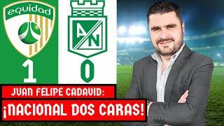 Equidad 1-0 Nacional   Liga Dimayor 2021-I   Resumen de Goles y Táctica por Juan Felipe Cadavid