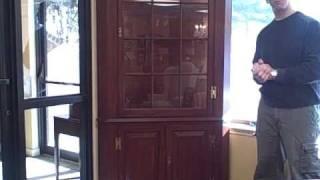Furniture Spotlight: Henkel Harris Cherry Corner Cabinet - Piece Of The Week